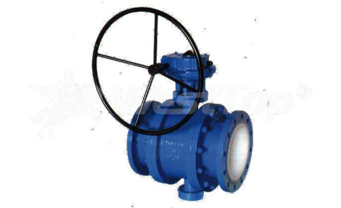 Q347TC涡轮陶瓷球阀