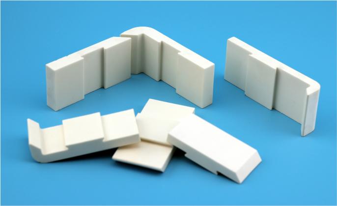 燕尾型耐磨陶瓷衬板(WT-S)