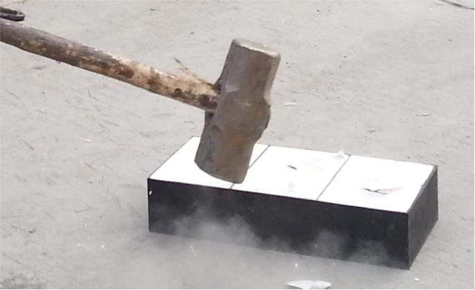 抗冲击型耐磨陶瓷衬板(WT-T)不惧重冲击