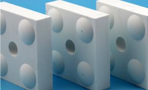 抗冲击型耐磨陶瓷(WT-T)丨大块物料输送系统防磨首选